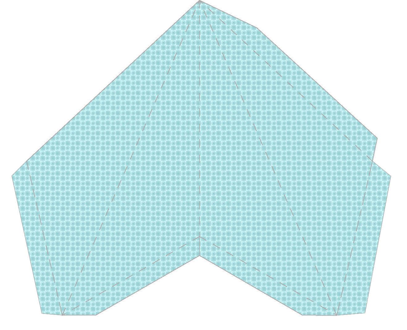 Звезда на елку из бумаги: мастер класс 12 1