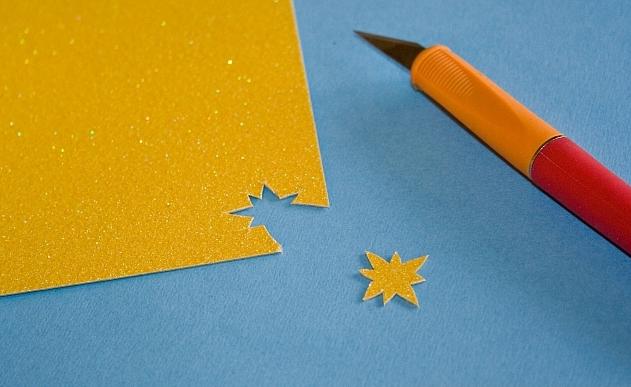 Новогоднее панно из бумаги: варианты для школы и садика 12 5