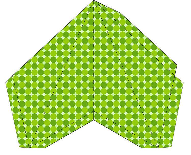 Звезда на елку из бумаги: мастер класс 14 2