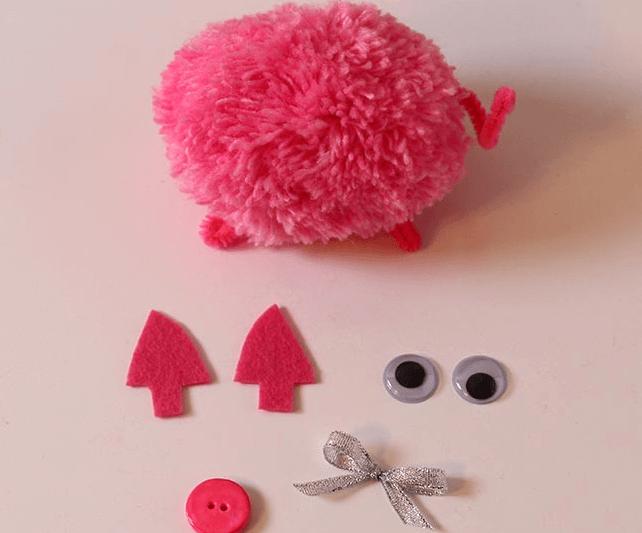 Мягкая игрушка Поросенок: символ года 2019 своими руками 15 1