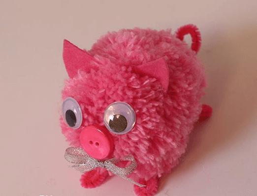 Мягкая игрушка Поросенок: символ года 2019 своими руками 17 1