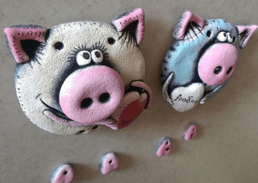 Поделка Свинья из соленого теста: оригинальный подарок на Новый год 2019 17