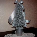 Елка из макарон: оригинальная поделка на Новый год