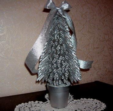 Елка из макарон: оригинальная поделка на Новый год 18 1
