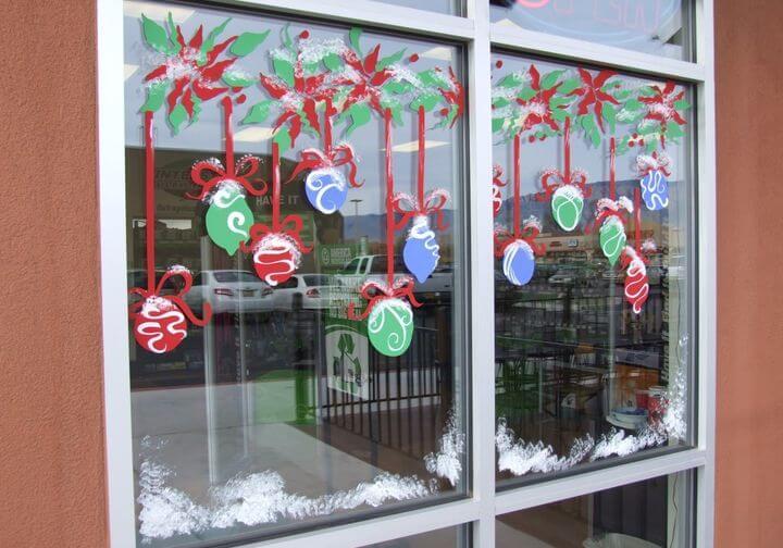 Украшаем окна к Новому году: шаблоны, советы 18 3