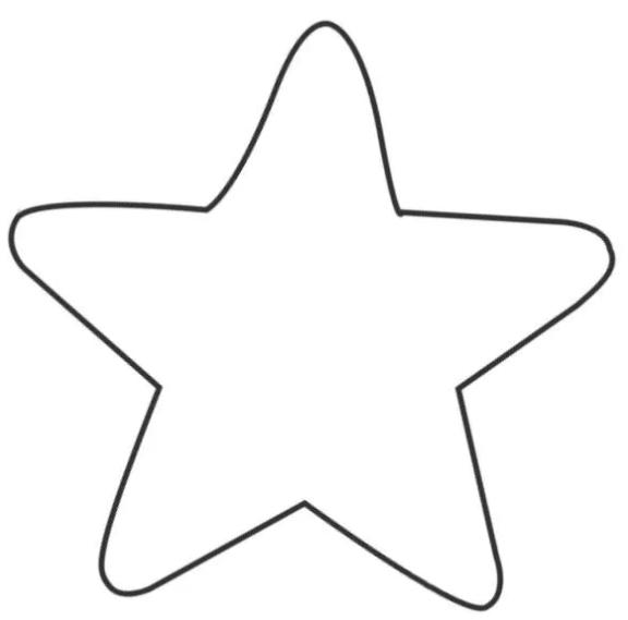 Новогодние звездочки из фетра для украшения Елки 2 9
