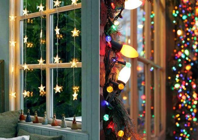 Украшаем окна к Новому году: шаблоны, советы 20 3