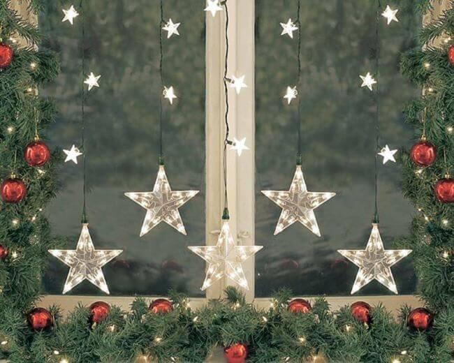 Украшаем окна к Новому году: шаблоны, советы 21 1