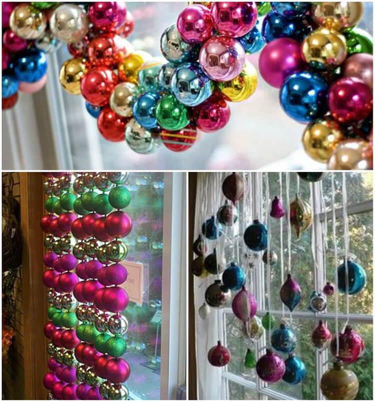 Украшаем окна к Новому году: шаблоны, советы 24