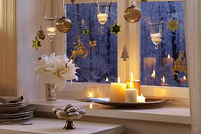 Украшаем окна к Новому году: шаблоны, советы 25 1