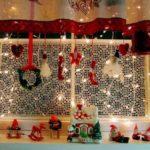 Украшаем окна к Новому году: шаблоны, советы