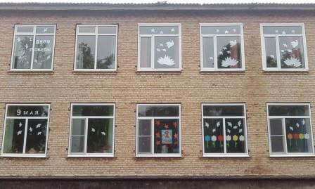 Украшаем окна к Новому году: шаблоны, советы 31