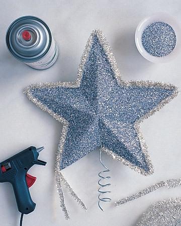 Объемная звезда из бумаги на Новый год 4 7