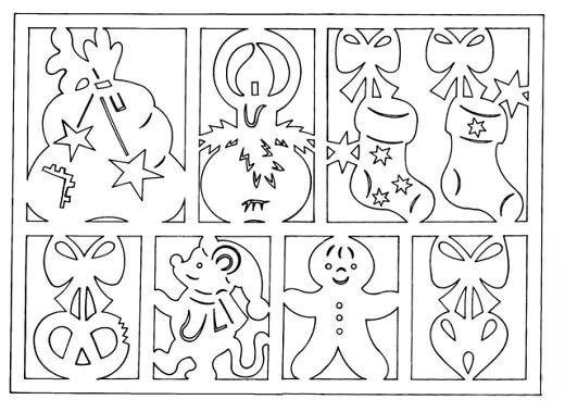 Украшаем окна к Новому году: шаблоны, советы 4 9