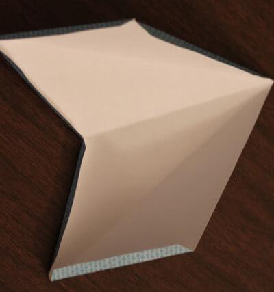 Звезда на елку из бумаги: мастер класс 5 8