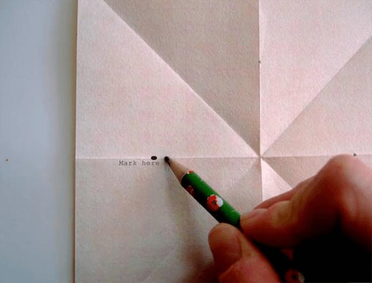 Рождественская звезда из бумаги своими руками 6 6