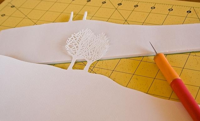 Новогоднее панно из бумаги: варианты для школы и садика 7 5