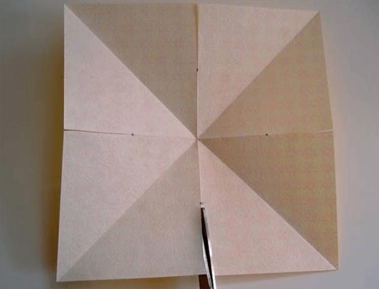 Рождественская звезда из бумаги своими руками 7 6
