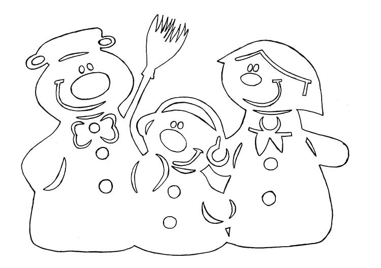 Украшаем окна к Новому году: шаблоны, советы 7 7