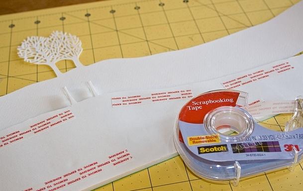 Новогоднее панно из бумаги: варианты для школы и садика 8 5