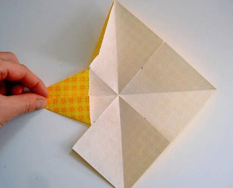Рождественская звезда из бумаги своими руками 8 6