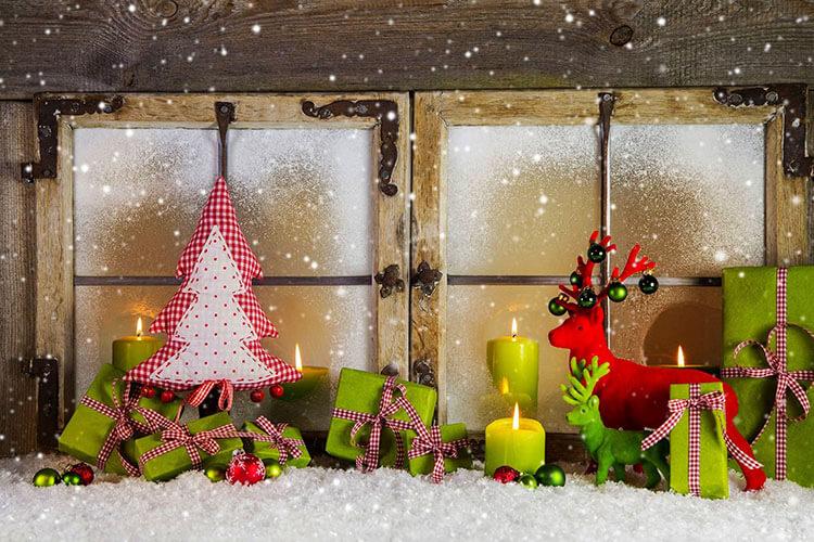 Украшаем окна к Новому году: шаблоны, советы 9 7