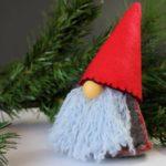Гномик из фетра: новогодняя поделка