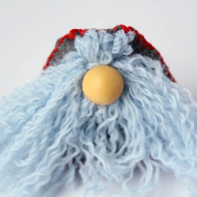 Гномик из фетра: новогодняя поделка Gnome 8
