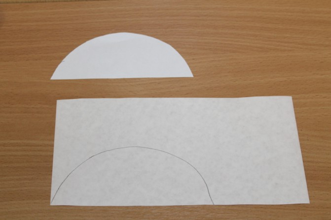 Дед Мороз из ватных дисков: поделка для детского сада ded moroz diskov 6