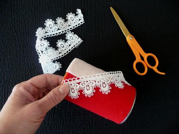 Поделка Дед Мороз для детского сада: творим вместе с ребенком ded moroz svoimi rukami 10