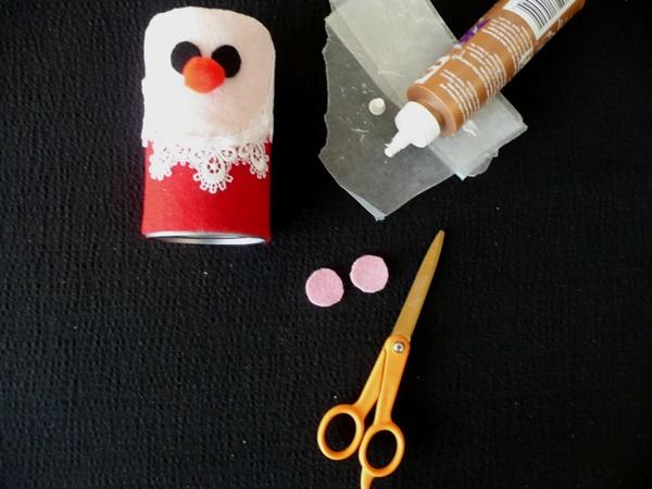 Поделка Дед Мороз для детского сада: творим вместе с ребенком ded moroz svoimi rukami 11