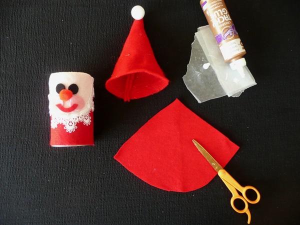 Поделка Дед Мороз для детского сада: творим вместе с ребенком ded moroz svoimi rukami 13