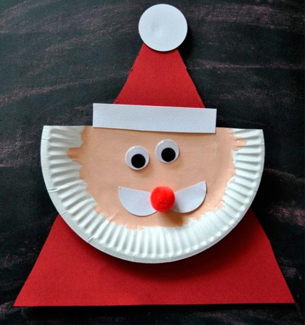 Поделка Дед Мороз для детского сада: творим вместе с ребенком ded moroz svoimi rukami 4