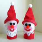 Поделка Дед Мороз для детского сада: творим вместе с ребенком