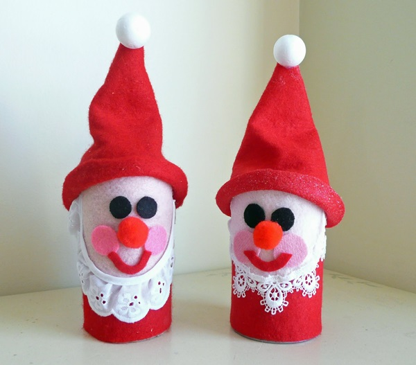Поделка Дед Мороз для детского сада: творим вместе с ребенком ded moroz svoimi rukami 5