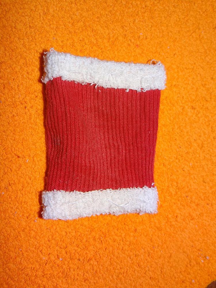 Дед Мороз из носка: готовимся к празднику заранее ded moroz iz noska 10