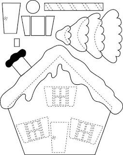 Создаем красивые домики из фетра на Новый год domik 23