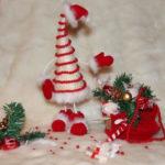 Красивая елка из сизаля на Новый год: мастер класс