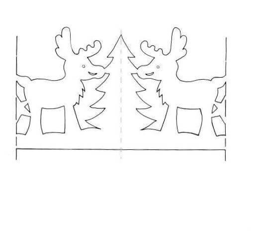 Гирлянды из бумаги на Новый год: идеи, шаблоны, мастер классы girlyanda iz bumagi na novyj god 6