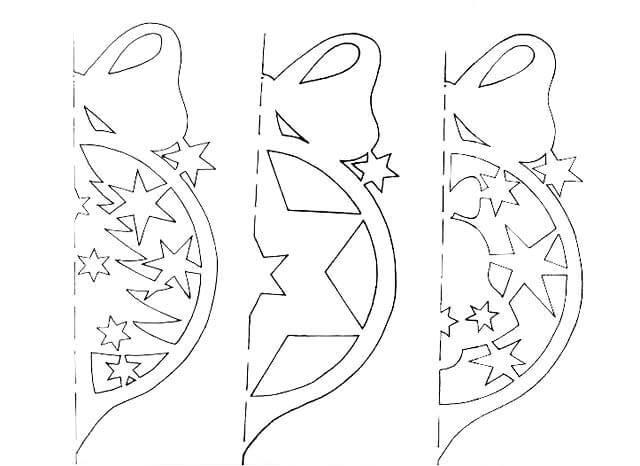 Гирлянды из бумаги на Новый год: идеи, шаблоны, мастер классы girlyanda iz bumagi na novyj god 8
