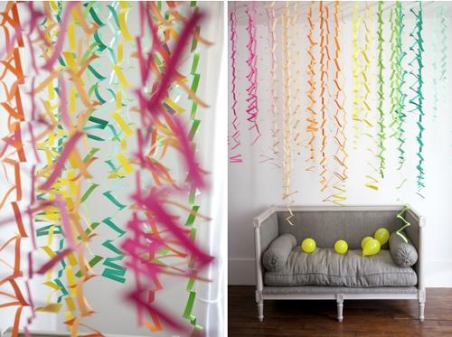 Гирлянда из цветной бумаги — красивая и простая поделка girlyanda iz cvetnoj bumagi 1