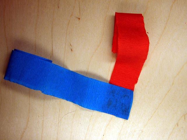 Украшаем квартиру на Новый год: гирлянда из гофрированной бумаги girlyanda iz gofrirovannoj bumagi 5