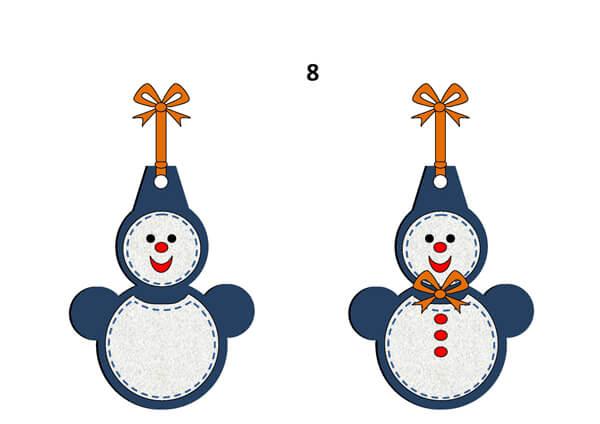 Гирлянда из бумажных снеговиков: готовимся к Новому году girlyanda snegovikov iz bumagi 11