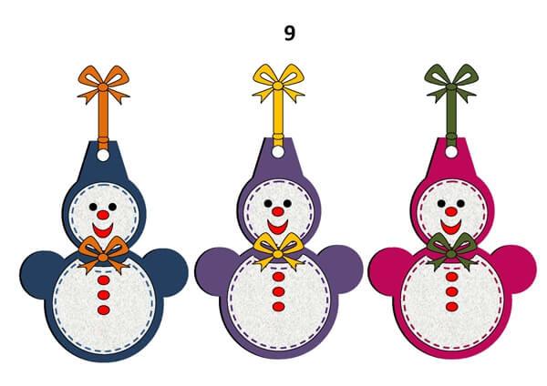 Гирлянда из бумажных снеговиков: готовимся к Новому году girlyanda snegovikov iz bumagi 3