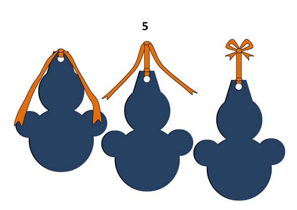Гирлянда из бумажных снеговиков: готовимся к Новому году girlyanda snegovikov iz bumagi 8