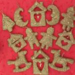 Игрушки из шпагата для украшения Елки