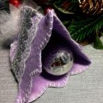 Новогодний колокольчик для украшения Елки