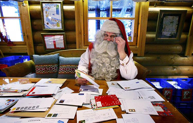Конверт для письма Деду Морозу: надо верить в чудеса konvert dlya pisma Dedu Morozu 1