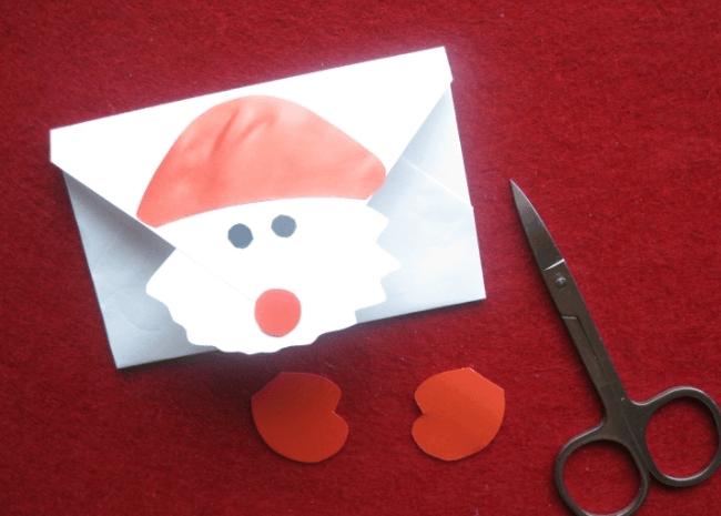 Конверт для письма Деду Морозу: надо верить в чудеса konvert dlya pisma Dedu Morozu 14