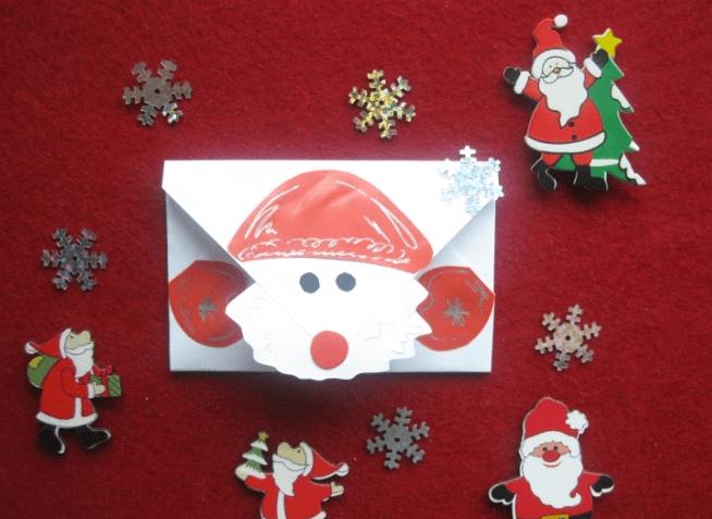 Конверт для письма Деду Морозу: надо верить в чудеса konvert dlya pisma Dedu Morozu 17